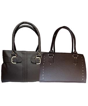 Messenger Sling Bag - Black & Cream Online Shopping | 68757
